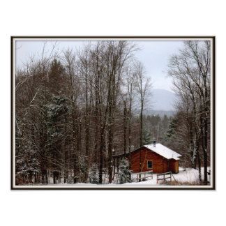 Cabin in the Woods Photo Print