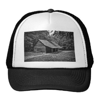 Cabin in the woods trucker hat