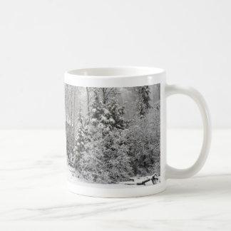 Cabin in Winter Mug