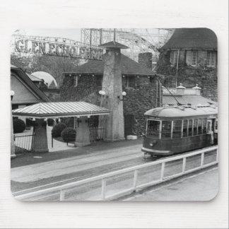 Cabin John Streetcar, 1930s Mousepads