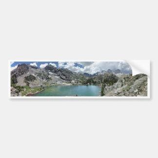 Cabin lake - Ansel Adams Wilderness - California Bumper Sticker