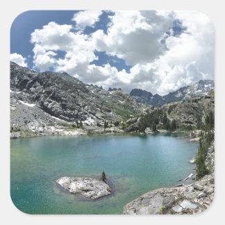 Cabin lake - Ansel Adams Wilderness - California Square Sticker