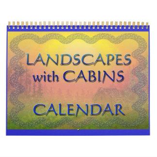 Cabin Landscape Calendar