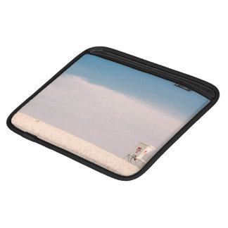 Cabin on a beach sleeves for iPads