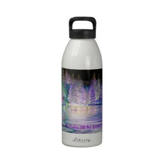 Cabin On The Lake IR Water Bottle