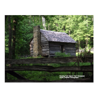 Cabin on the Roaring Fork Nature Trail Postcard