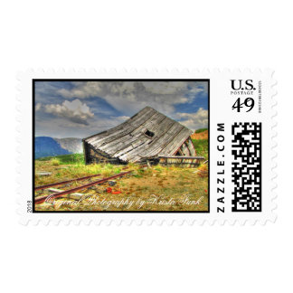 Cabin on the Skids Stamps