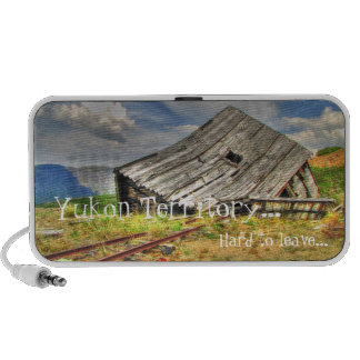 Cabin on the Skids; Yukon Territory Souvenir PC Speakers