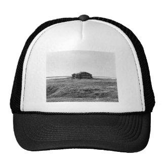 Cabin on tundra trucker hat