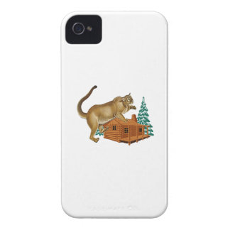 Cabin Pounce iPhone 4 Case-Mate Case