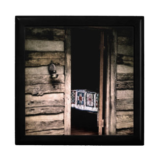 Cabin Quilt Gift Box