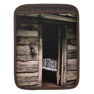 Cabin Quilt ipad Sleeve