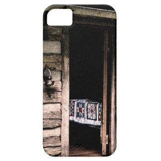 Cabin Quilt iphone 5 Case