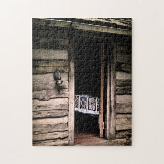 Cabin Quilt Jigsaw Puzzle
