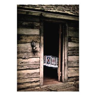 Cabin Quilt Photo Print