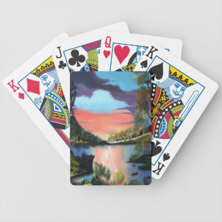 Cabin Retreat Bicycle Playing Cards