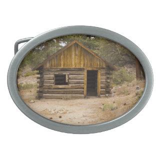 Cabina de la montaña hebilla cinturon oval