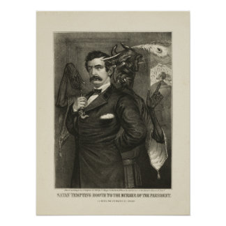 Cabina de la tentación de Satan [1865] Póster