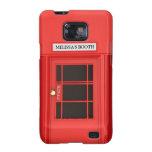 Cabina de teléfono británica de Oldschool Galaxy S2 Carcasa