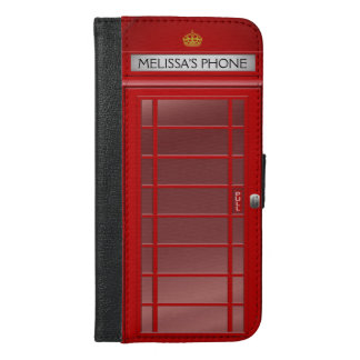 Cabina de teléfono británica personalizada del