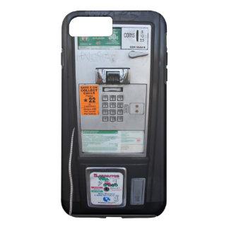Cabina de teléfono de pago pública divertida funda iPhone 7 plus