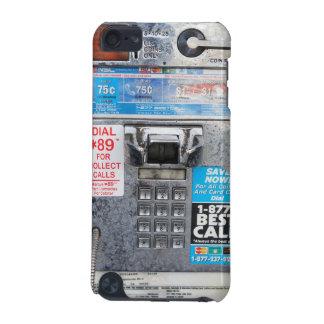 Cabina de teléfono de pago pública divertida funda para iPod touch 5G