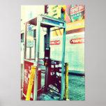 Cabina de teléfono de SF Poster