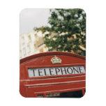 Cabina de teléfono en Londres Inglaterra Imán
