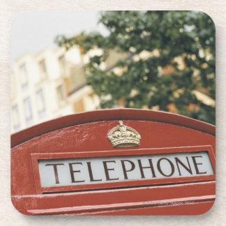 Cabina de teléfono en Londres Inglaterra Posavaso