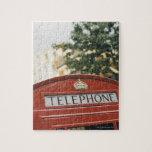 Cabina de teléfono en Londres Inglaterra Puzzles Con Fotos