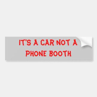 cabina de teléfono pegatina para auto