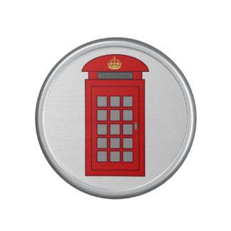 Cabina de teléfonos británica altavoz