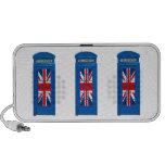 Cabina de teléfonos de Londres Inglaterra iPod Altavoces