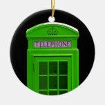 Cabina de teléfonos de Londres Inglaterra Ornamento De Reyes Magos