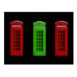 Cabina de teléfonos de Londres Inglaterra Postal