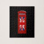 Cabina de teléfonos de Londres Inglaterra Rompecabezas Con Fotos