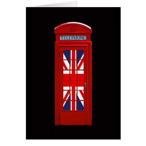 Cabina de teléfonos de Londres Inglaterra Tarjetas