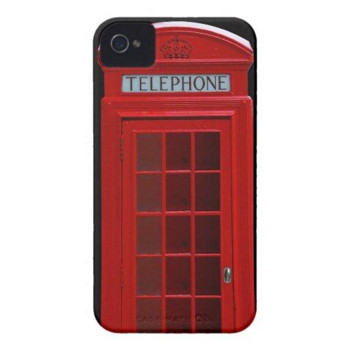 Cabina de teléfonos de Londres iPhone 4 Coberturas