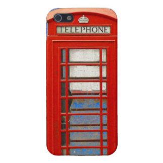 Cabina de teléfonos de Londres iPhone 5 Funda