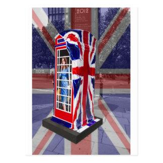 Cabina de teléfonos real postal