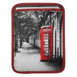 Cabina de teléfonos roja británica de Londres Manga De iPad