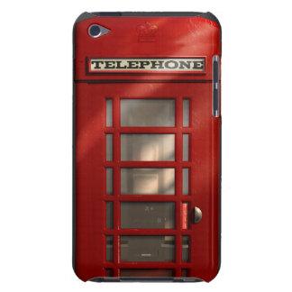 Cabina de teléfonos roja británica del vintage iPod Case-Mate coberturas