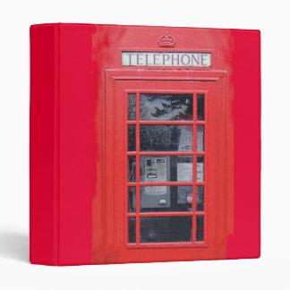 """Cabina de teléfonos roja de Londres Carpeta 1"""""""