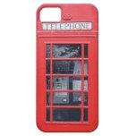 Cabina de teléfonos roja de Londres iPhone 5 Case-Mate Protectores