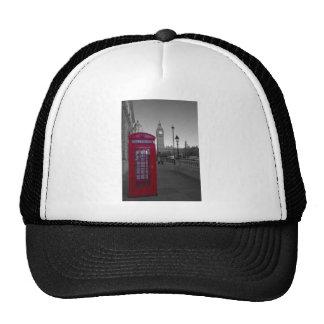 Cabina de teléfonos roja de Londres Gorras