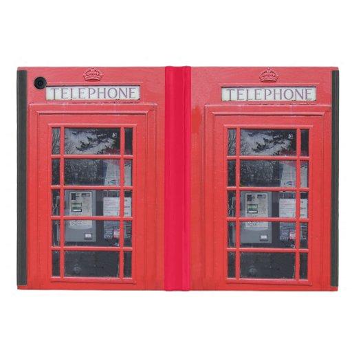 Cabina de teléfonos roja de Londres iPad Mini Cárcasas