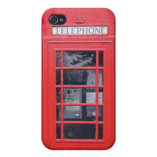 Cabina de teléfonos roja de Londres iPhone 4/4S Carcasa
