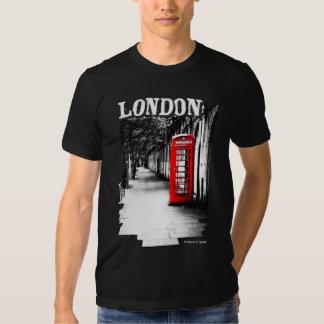Cabina de teléfonos roja de Londres Playera