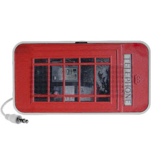 Cabina de teléfonos roja de Londres Sistema De Altavoz