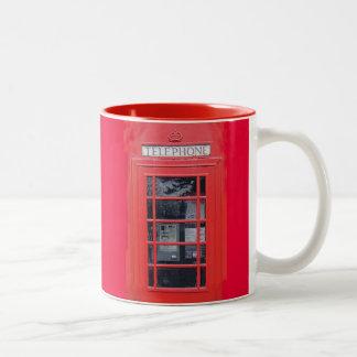 Cabina de teléfonos roja de Londres Taza De Café